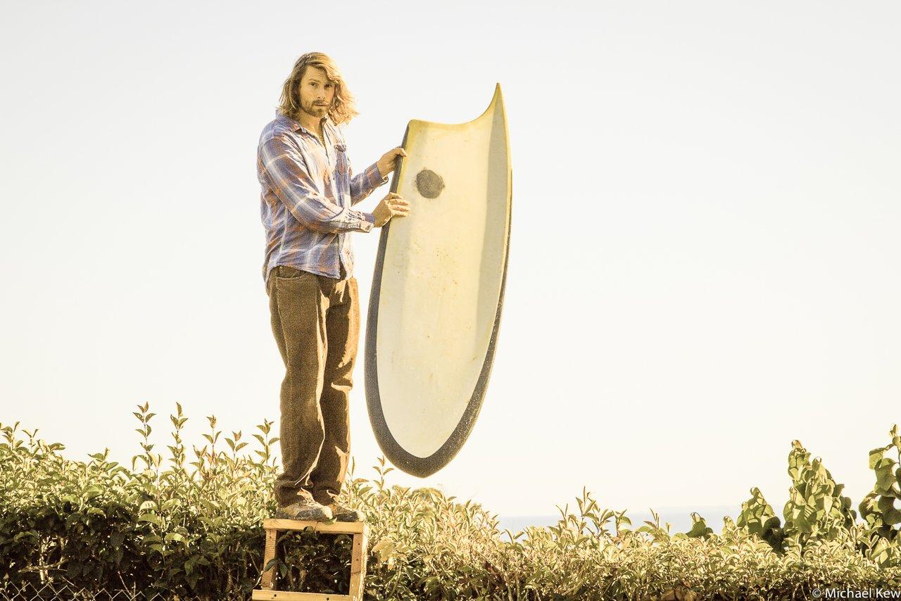 フィンレスボード「ラビッツ・フット」のライド映像:トレヴァー・ゴードン