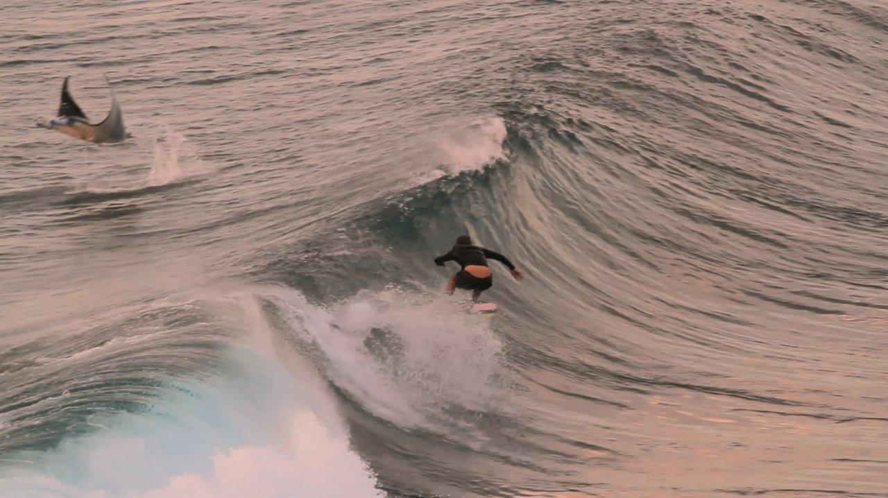 バリ島でのサーフタイム:オジー・ライト