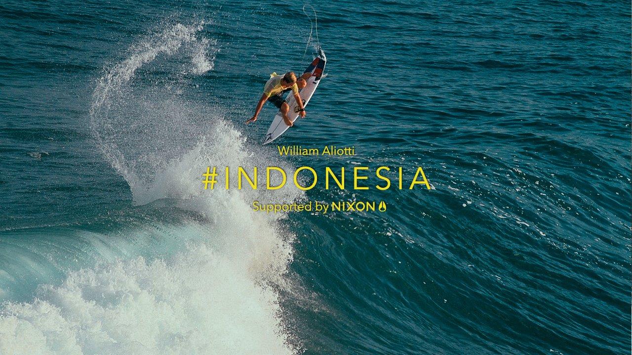 経験豊富なサーフトラベラーもお気に入りなインドネシア:ウィリアム・アリオッティ