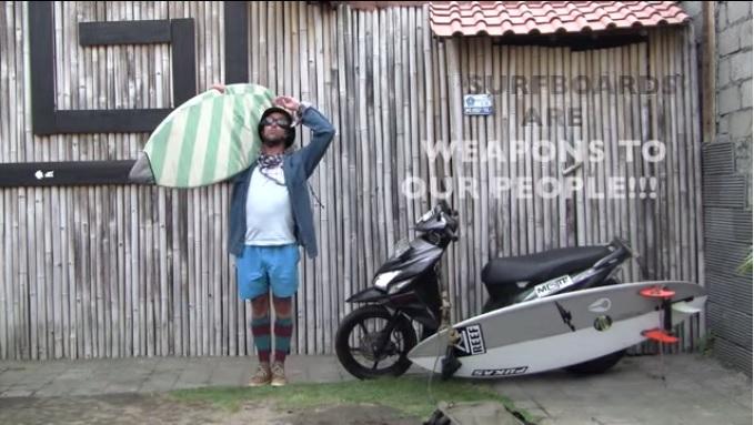 ケパアセロ ロンボク インドネシア チャップリン
