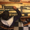 古いサーフボードがアートに変わるまでのタイムラプス映像