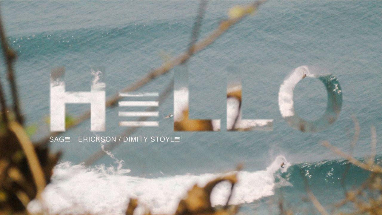 ディミティ・ストイル&セイジ・エリクソンのバリ島トリップ