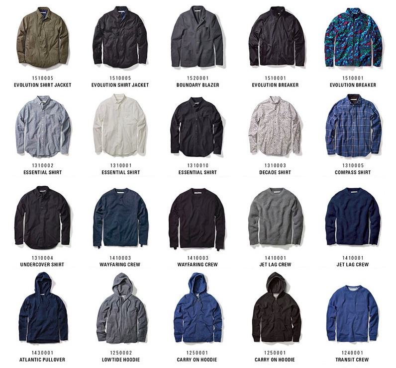 outerknown clothing range