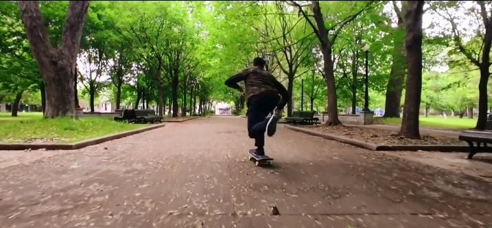 スケート 撮影 iPhone