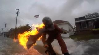 ストリートサーフィン 炎 キャッチサーフ