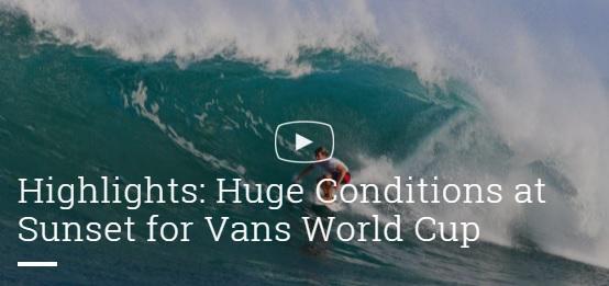 2015 Vans World Cup Day2 Highlight
