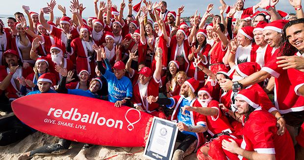 ギネス世界記録 サーフレッスン ボンダイビーチ オーストラリア シドニー