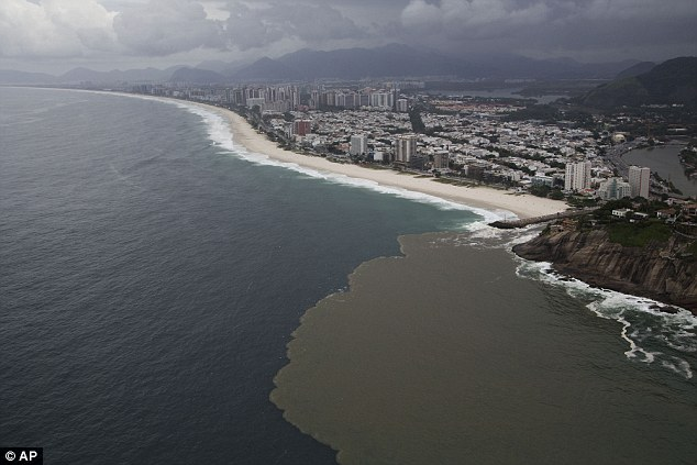 diffrence of ocean color at Rio