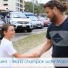 病気の子供に夢を与える団体によるサーフィンサプライズ@オーストラリア
