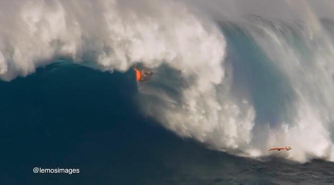 ニッコロ・ポルセラ マウイ島 ジョーズ カイトサーフィン