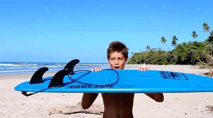 Fins Backwards Surfing