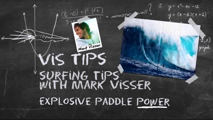Mark Visser Paddle Power