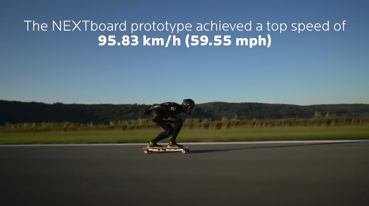 Fastest Speed by Electric Skateboard
