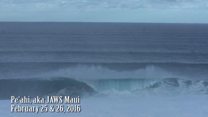 Jaws Maui Feb 25&26 2016