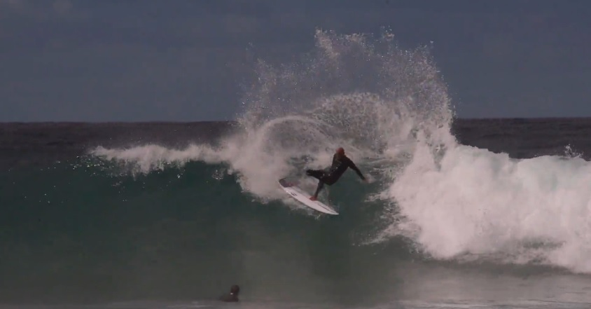 Kelly Slater shredding Winkipop