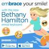 ベサニー・ハミルトンの絵文字キーボードアプリが登場