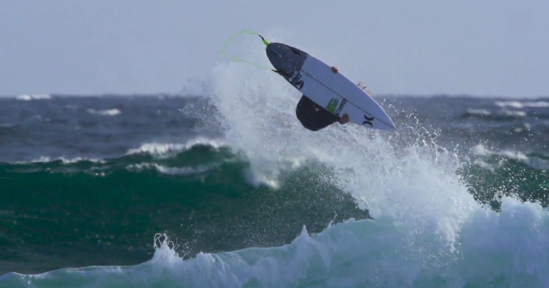 John John Florence inverted air reverse WA
