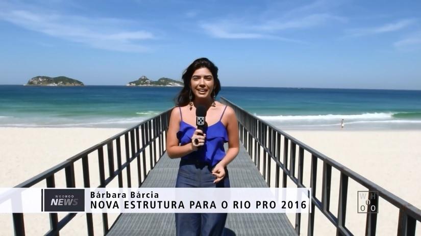 Brazil WCT Event setting up a bridge