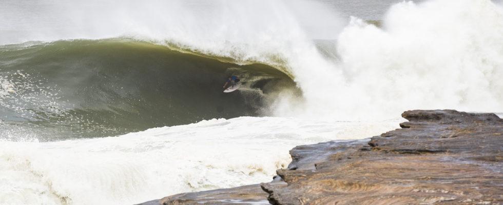 Blake Thornton (Aus) surfs Cape Fear June 6 2016