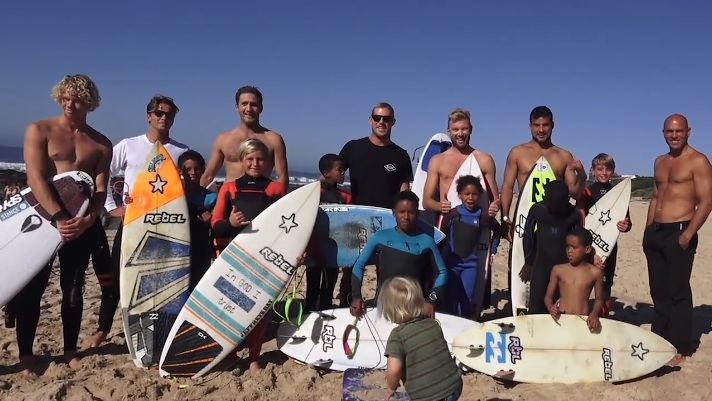 J-Bay Groms with WCT surfers