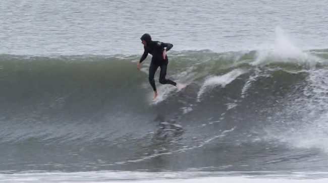 surfing without surfboard