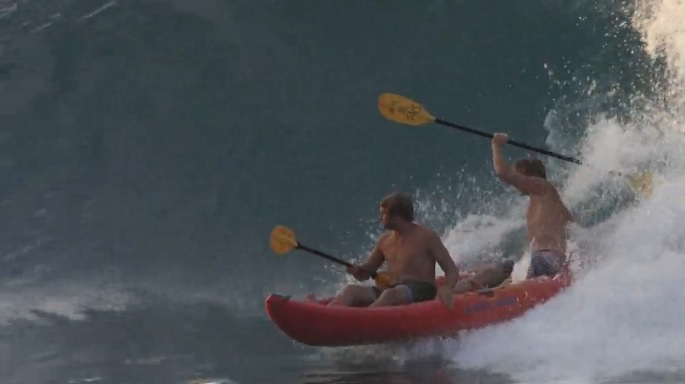 tandem kayak who is job