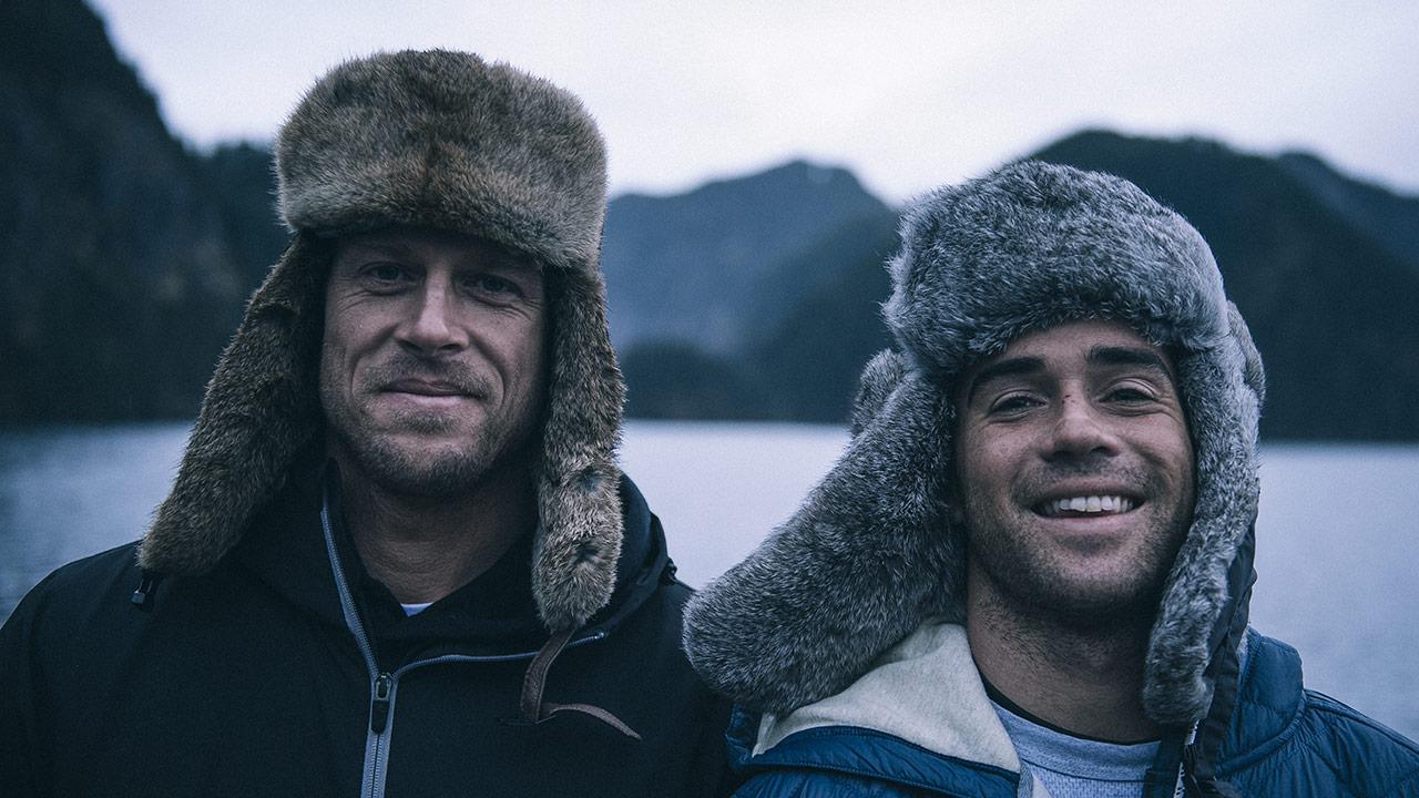 ミック・ファニングとメイソン・ホーのアラスカトリップ@サーチシリーズ