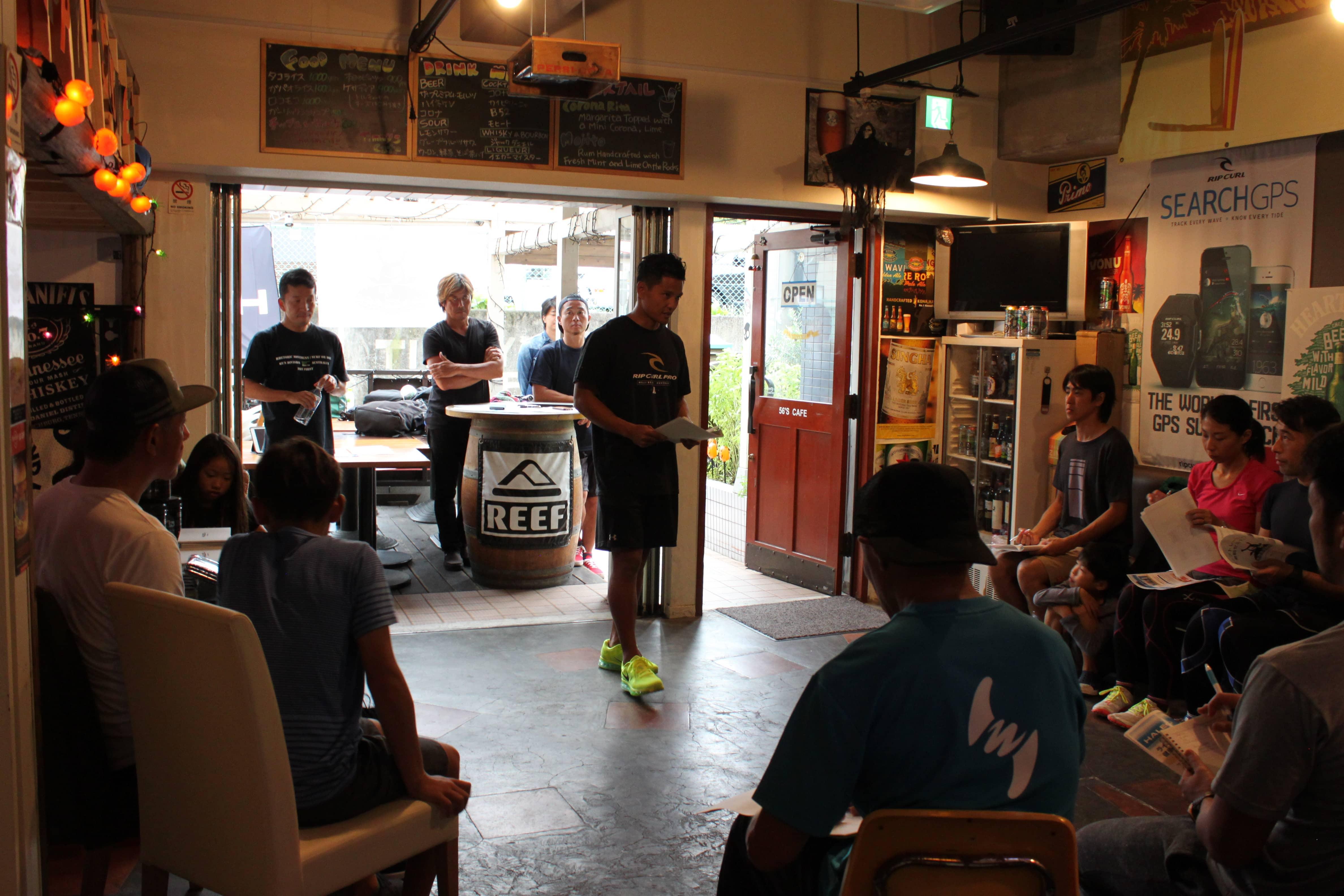 辻堂イベントの様子 Photo: 日本サーフトレーニング協会