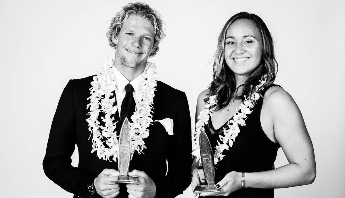 ジョンジョンとカリッサのハワイアンが人気No.1となった2016年サーファーアワード