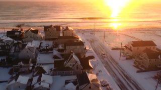 米ニュージャージーで冬のストーム通過後のウインターセッション@2017年1月
