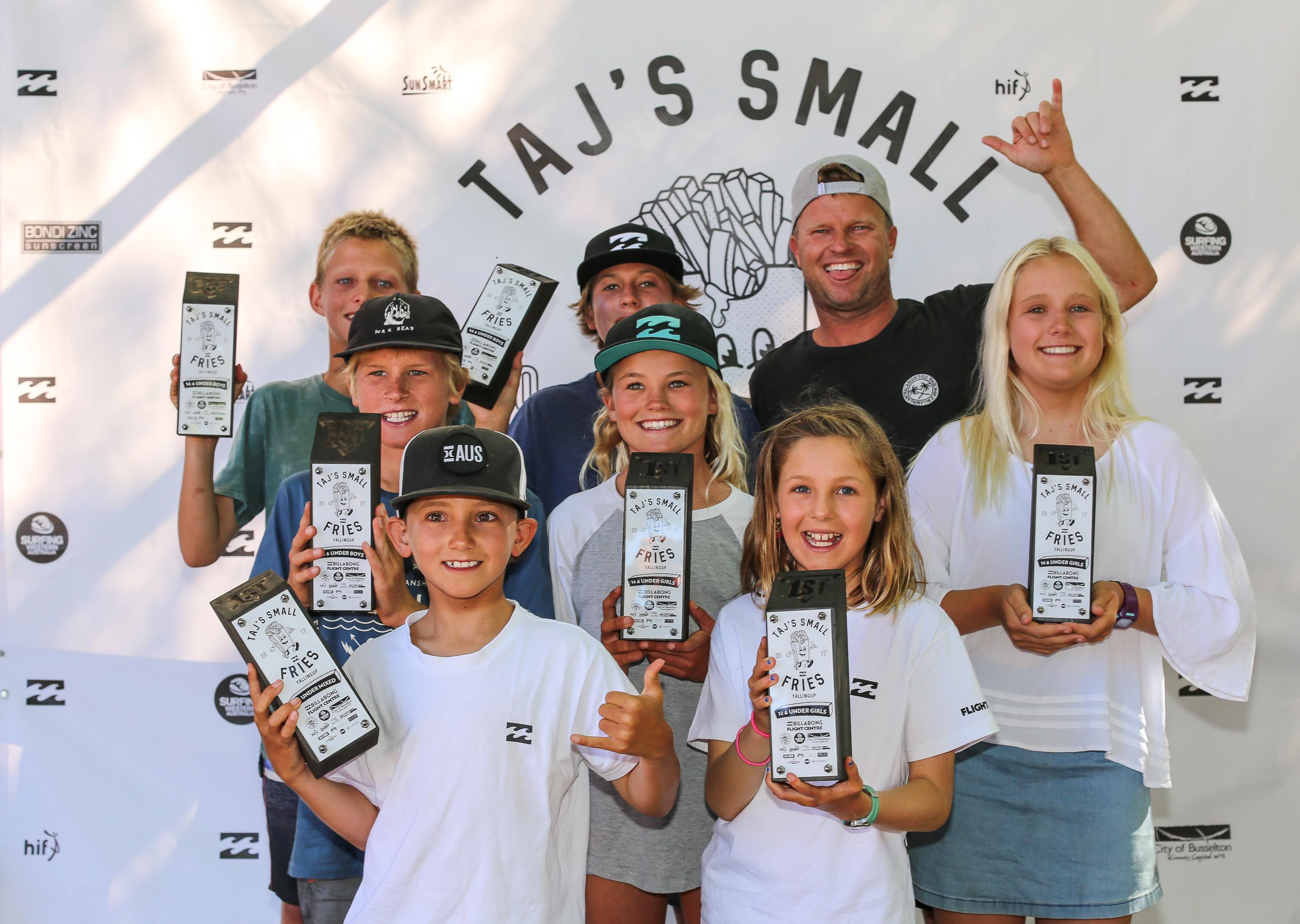 タジ・バロウのキッズ向けイベント「Taj's Small Fries」:タジが少女を救助する一幕も