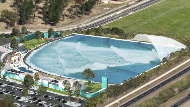 豪で建設予定のウェイブプールは海に近い波を発生可能!オリンピックチームも注目の施設