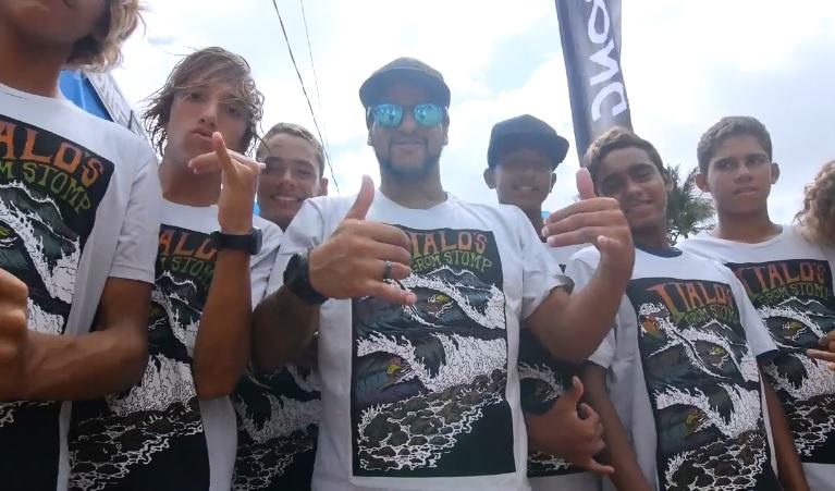 イタロ・フェレイラがブラジルで初開催したグロムイベント「Italo's Grom Stomp」
