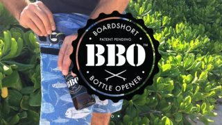 栓抜きを内蔵させてしまったボードショーツ「BBO(Boardshort Bottle Opener)」
