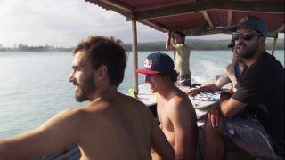 レオとアリッツのヨーロピアンサーファーによるニアス(インドネシア)トリップ