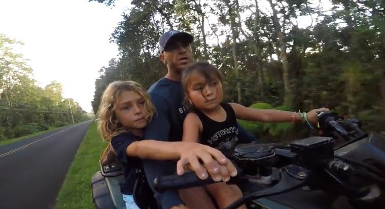 ハワイの大自然で暮らすシェーン・ドリアン一家の日常をGoPro撮影