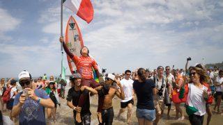CTサーファーが優勝とは行かなかった2017年ISAイベント@フランスのメンズ部門
