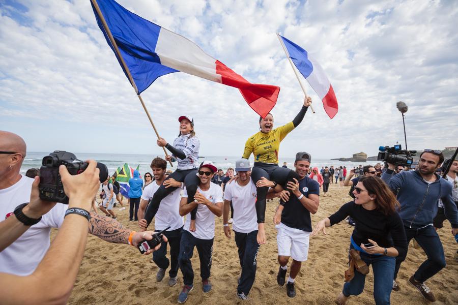 2017年ISAイベント@フランスのウイメンズはCTサーファーがワンツーフィニッシュ