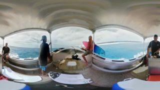 ケリー・スレーターのVR動画@南太平洋!ケリーのライディングを細かくチェック