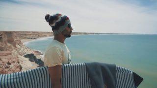 7×モロッコチャンピオンのヤシン・ラムダニによるフリーサーフ動画@ダフラ(西サハラ)