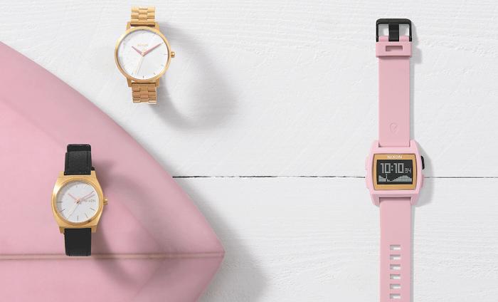 Nixonからリリースされたレイラ・ハーストの腕時計シグネチャーシリーズ
