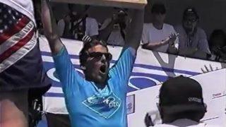 アンディ・アイアンズのフリーサーフ動画@ハンティントンビーチ!約20年前のOPプロ