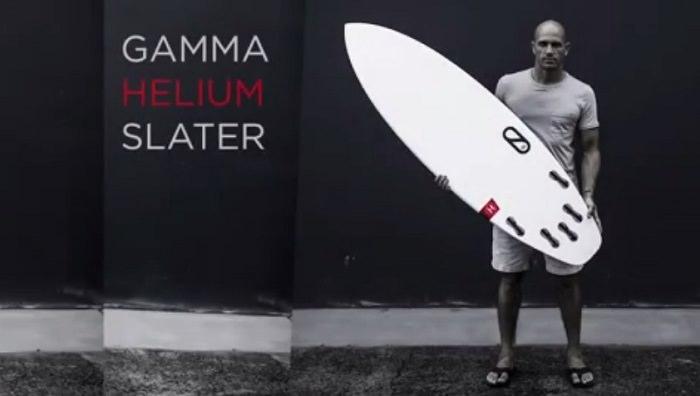 スレーターデザインズからリリースとなる新作サーフボードモデル「ガンマ(Gamma)」