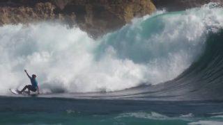 ジャワ島のハイグレードな波にローグレードなQS1,000の2017年「パチタンプロ」
