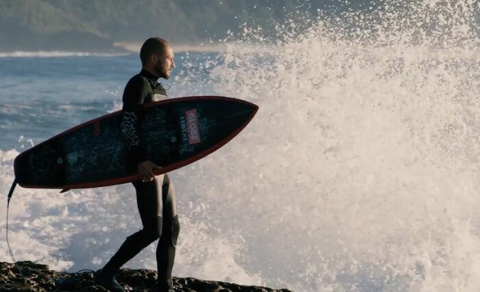 ヘイデンシェイプス新モデル「Holy Grail」!ディオン・アジアスのライディング動画