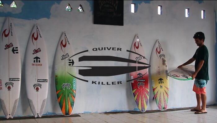 短いトリップ向けボードでメイソン・ホーがデザートポイントへ!「Quiver Killer」編