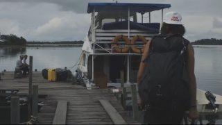 無人のパーフェクトウェイブ!北スマトラ(インドネシア)ボートトリップ動画