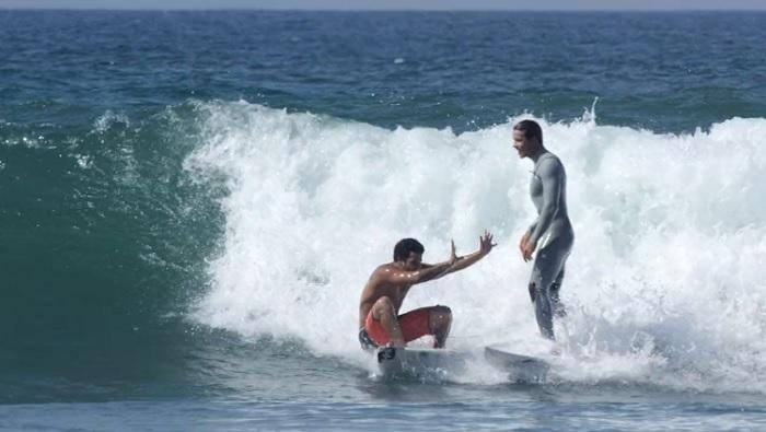 ジュリアン・ウィルソンのフリーサーフィン動画@ローワーズと大原洋人のFワード