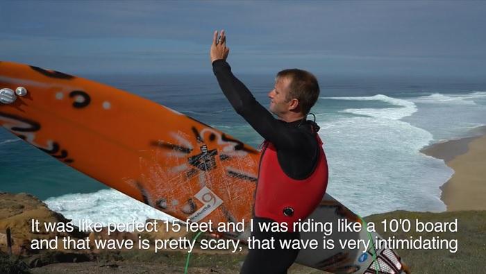 ジョシュ・カーが振り返る昨年初体験となったナザレでのビッグウェイブサーフィン