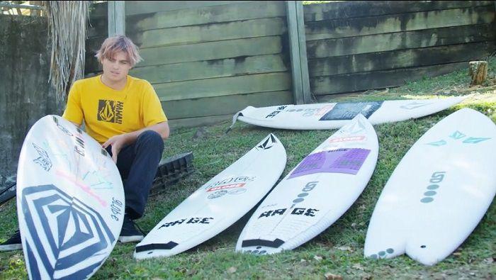 若手カリスマの乗るサーフボード!ノア・ディーン本人によるライディング&解説動画